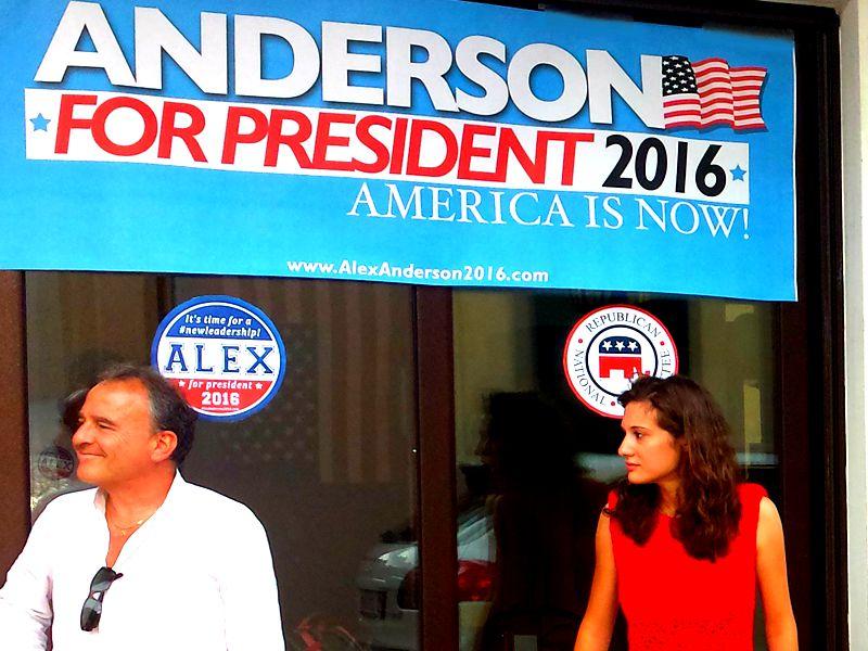 Alex Anderson 2016 – outodoor poster