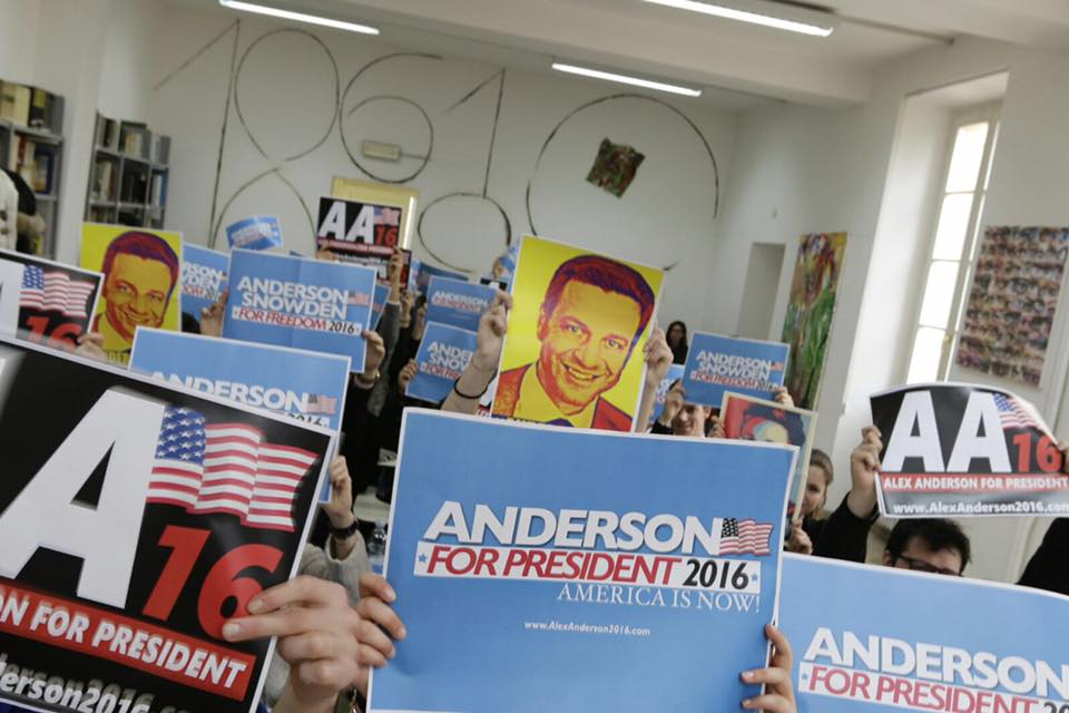 Alex Anderson for President 2016 – Los Angeles – Obama 4
